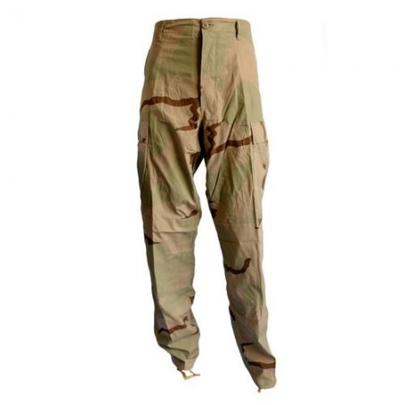 US 3 Colour Desert Camouflage Trousers