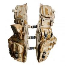 British Desert MOLLE Vest