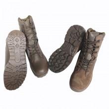 British Brown Patrol Boots