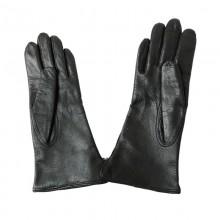 Dutch Black Leather Gloves