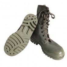 French Khaki Palladium Boots