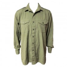 British Olive Green Shirt